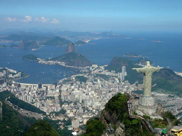 O Cristo já se prepara para assistir o jogos olímpicos!