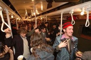 Festa no metrô